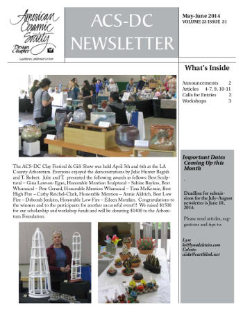 May-June 2014 newsletterThumb
